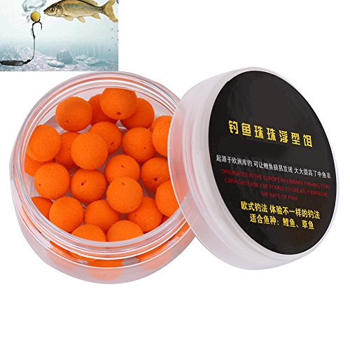 Vbestlife 30Pcs/Box Smell Soft Fishing Lure Soft Boilies Fishing Bait Boilies Floating Smell Ball Beads Feeder Artificial Carp Baits Lure