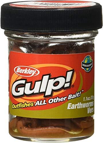 Berkley Gulp! Earthworm, 4in | 10cm, Soft Bait - 4in | 10cm