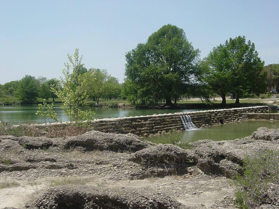 Blanco Riverin Texas