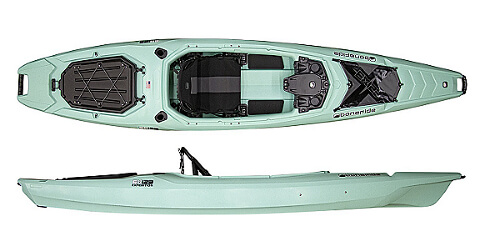 Bonafide EX123 Sit Inside Fishing Kayak