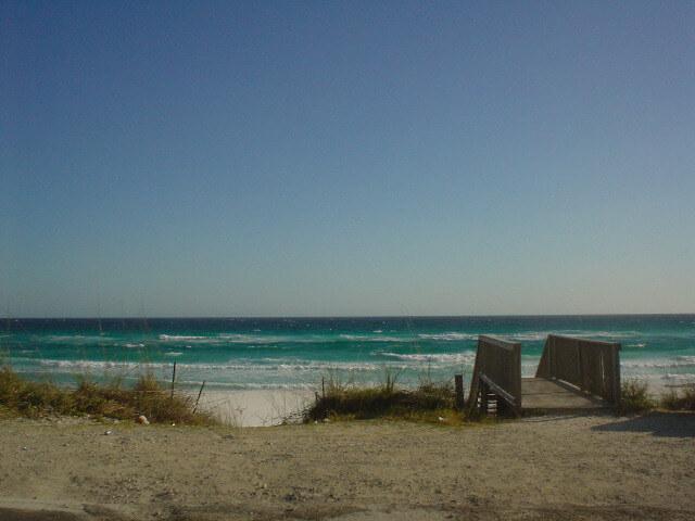 Destin beach in Florida