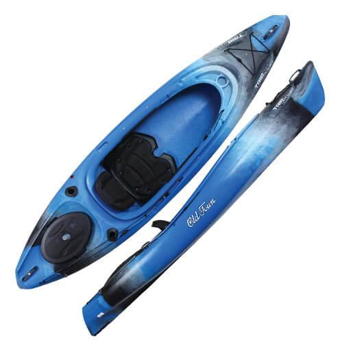 Old Town Canoe Trip 10 Deluxe Angler Kayak