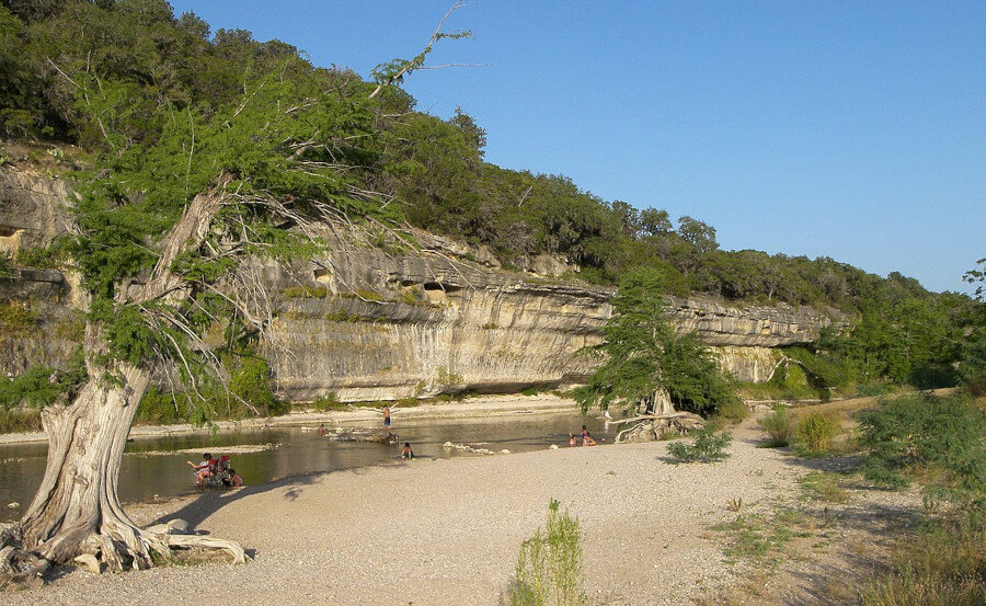 The Guadalupe River in Texas