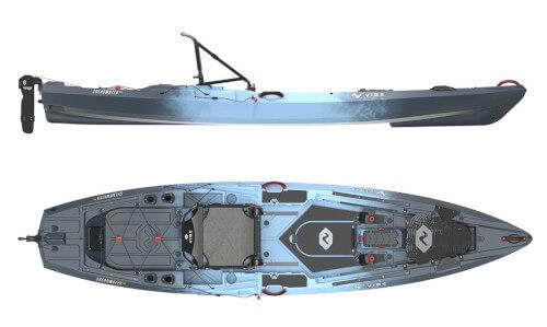 Vibe Shearwater 125 Fishing Kayak