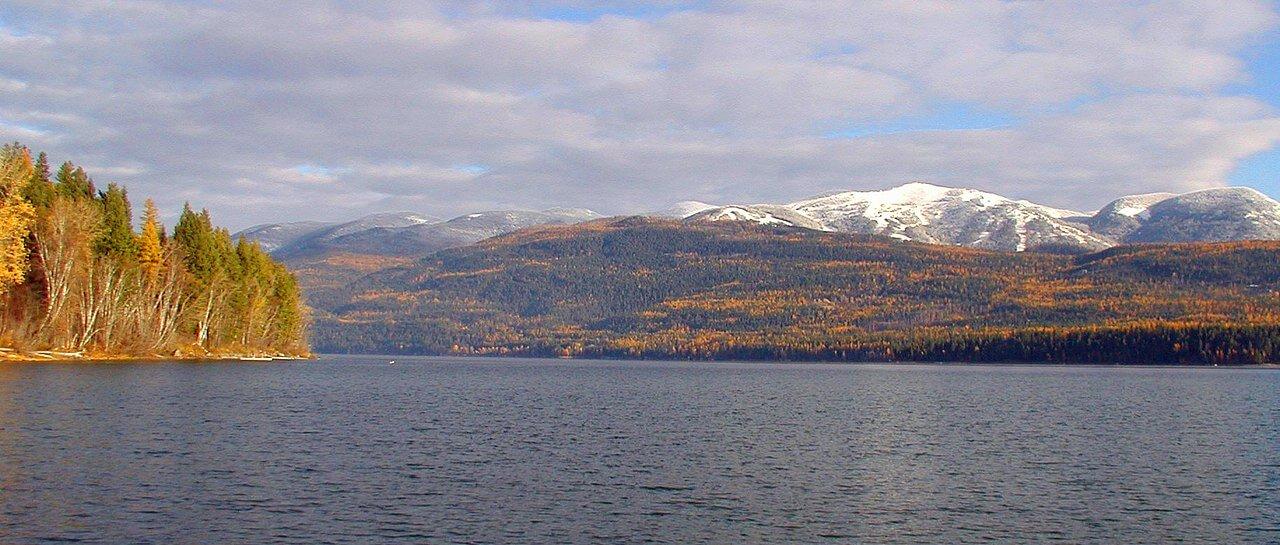 Whitefish Lake in Montana