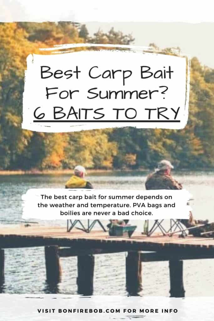 Best carp bait for summer. This is the baits I recommend you trying before anything else. And yes, corn is a great bait if you want to catch carp. #fishingbeginners #carpspawn #carptips #findingcarp #fishingforcarp #tipscarp #fishing #carpfishing #catchingcarp #carpbite #fishingtips