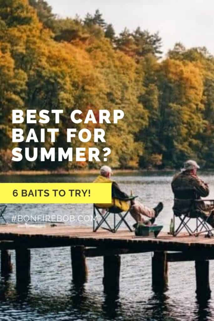 Best carp bait for summer. This is the baits I recommend you trying before anything else. And yes, corn is a great bait if you want to catch carp. #fishingbeginners #carpspawn #carptips #findingcarp #fishingforcarp #tipscarp #fishing #carpbite #fishingtips #carpfishing #catchingcarp