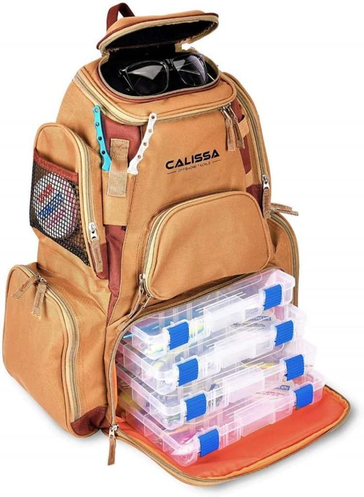 Calissa X-Large best Fishing Backpack - 'Blackstar'