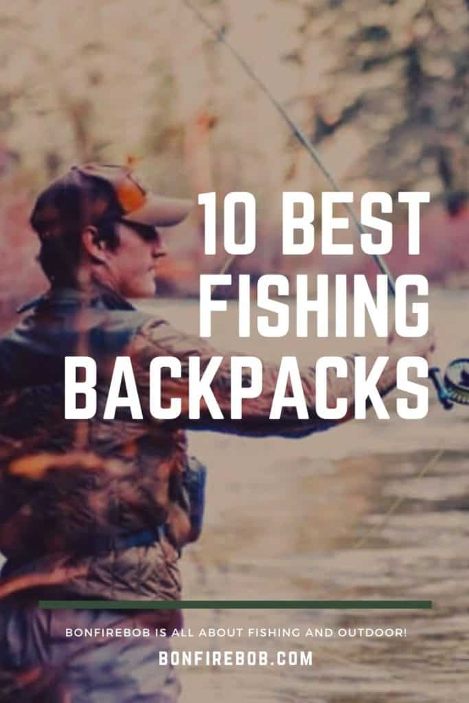 Best fishing backpack w. buying guide. For me the best fishing backpack doesn't have to be the most expensive. It's the one that matches YOUR needs. #fishingbackpack #fishingbackpackideas #fishinggear #bestfishinggear #bestfishingbackpack #hikingbackpack #carpfishingbackpack #catfishingbackpack #backpackfishing #backpackcarp