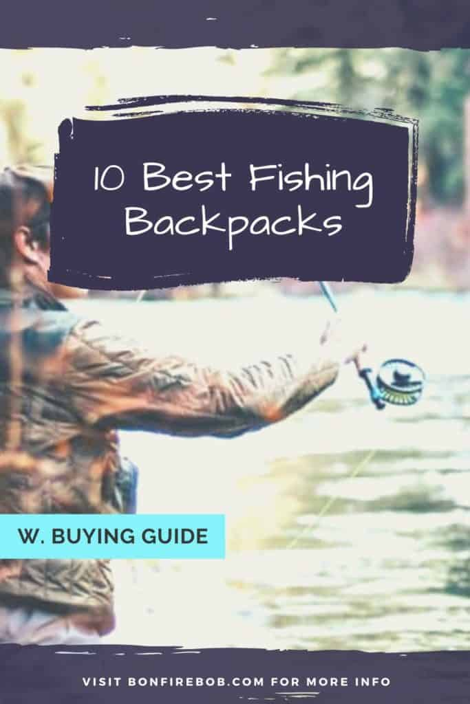 Best fishing backpack w. buying guide. For me the best fishing backpack doesn't have to be the most expensive. It's the one that matches YOUR needs. #fishingbackpack #hikingbackpack #backpackfishing #backpackcarp #carpfishingbackpack #catfishingbackpack #fishingbackpackideas #fishinggear #bestfishinggear #bestfishingbackpack