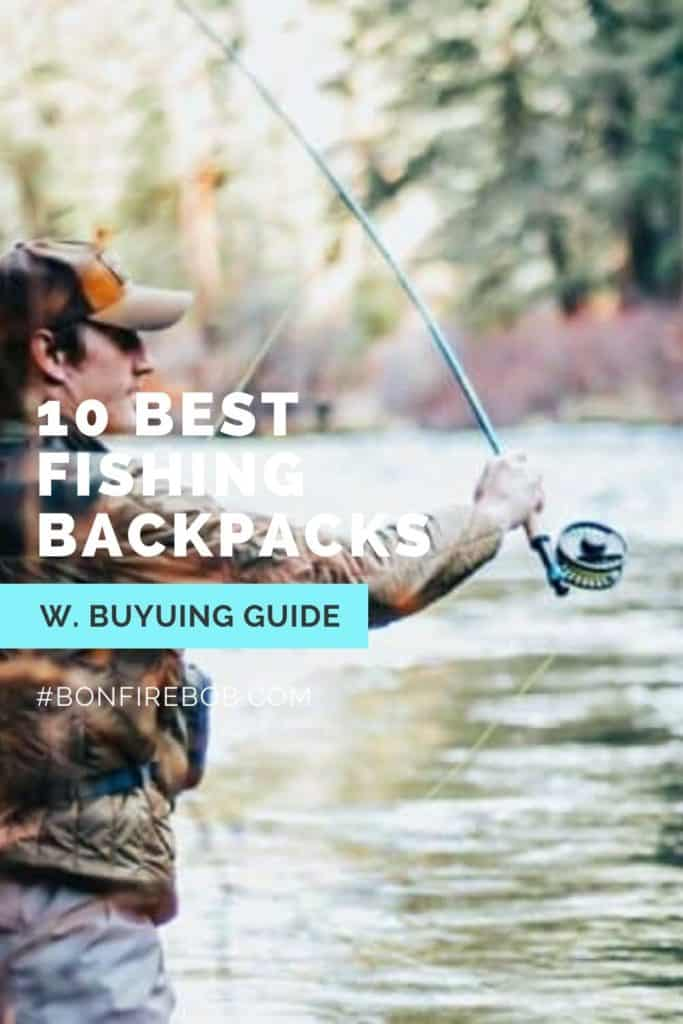 Best fishing backpack w. buying guide. For me the best fishing backpack doesn't have to be the most expensive. It's the one that matches YOUR needs. #fishingbackpack #fishingbackpackideas #fishinggear #bestfishinggear #backpackcarp #carpfishingbackpack #catfishingbackpack #bestfishingbackpack #hikingbackpack #backpackfishing
