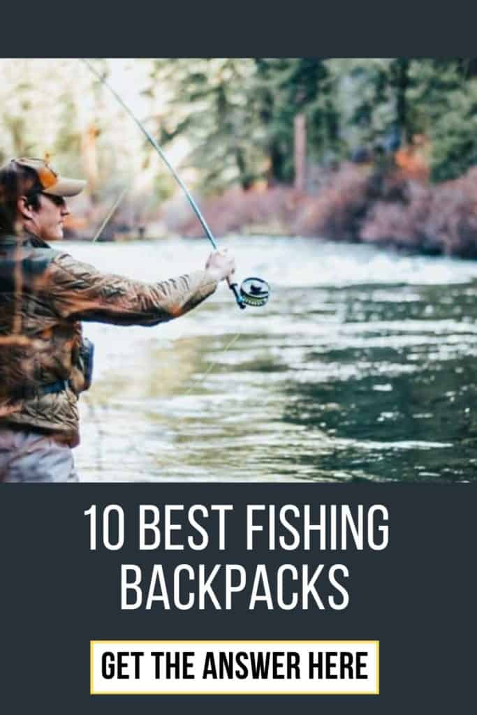 Best fishing backpack w. buying guide. For me the best fishing backpack doesn't have to be the most expensive. It's the one that matches YOUR needs. #fishingbackpack #fishingbackpackideas #fishinggear #bestfishinggear #bestfishingbackpack #hikingbackpack #backpackfishing #backpackcarp #carpfishingbackpack #catfishingbackpack