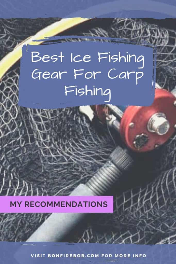 Best ice fishing gear for carp fishing. This is my picks on what I think is the best ice fishing gear for when you want to catch carp. #fishingforcarp #tipscarp #fishing #carptips #findingcarp #carpbite #fishingtips #carpfishing #catchingcarp #fishingbeginners #carpspawn