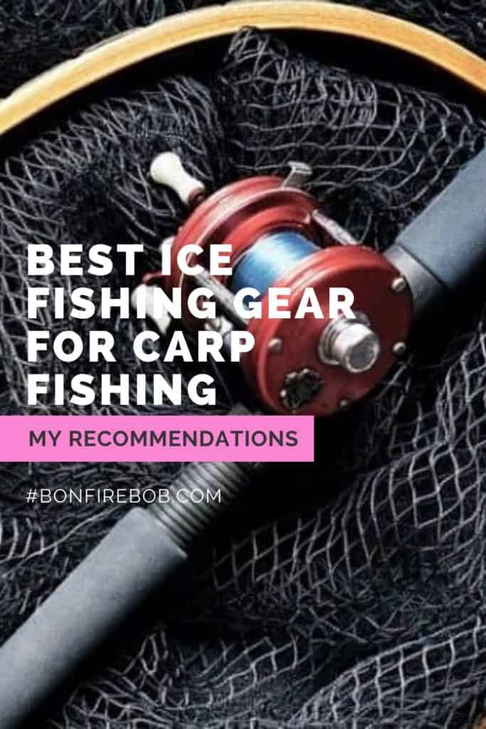 Best ice fishing gear for carp fishing. This is my picks on what I think is the best ice fishing gear for when you want to catch carp. #carpfishing #catchingcarp #carpbite #fishingtips #fishingforcarp #tipscarp #fishing #fishingbeginners #carpspawn #carptips #findingcarp