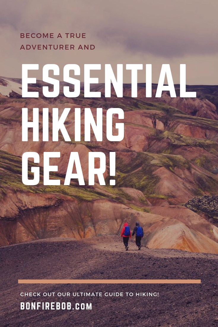 Properly gearing up for a hike isn't as simple as good footwear and a water bottle, though. Use this list to help guide you on what you need and what you don't need before you hit the trails. The hiking gear list inlcudes maps, compass, shoes, water storage, backpack, sun protection, bug repellant and much more. #hiking #hikinggear #hikingessentials #gearforhike #hikingtips #hikingchecklist #hiking #besthikinggear #gohiking #hikingbeginner #bugrepellant