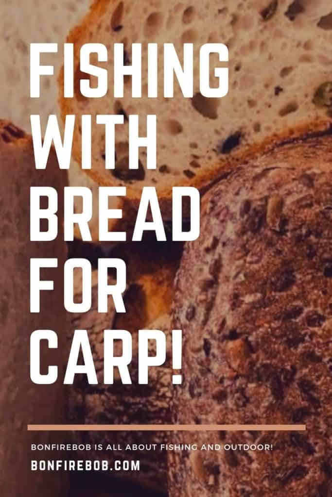 Fishing with bread for carp. Fishing With Bread For Carp is an easy tactic that also carriers more perks than some other popular baits anglers use to catch carp around the world. Read more here. #fishingforcarp #tipscarp #fishing #carpfishing #catchingcarp #carpbite #fishingtips #fishingbeginners #carpspawn #carptips #findingcarp