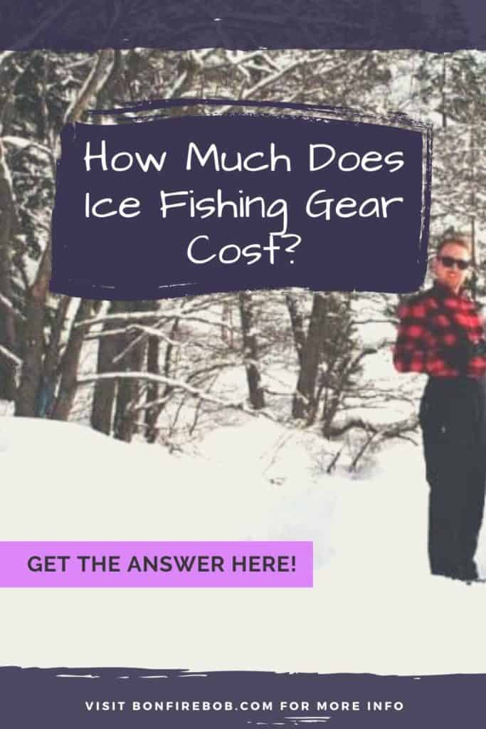 What does ice fishing gear cost? It all depends of the quality - this article includes examples and comparisons. #icefishing #icefishinggear #icefishingshackplans #icefishingshack #icefishingbait #icefishinghouse #icefishingshanty #icefishingtips #icefishingsled