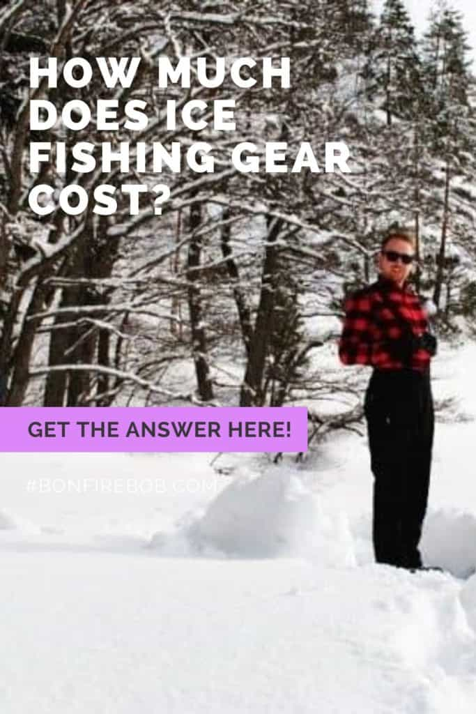What does ice fishing gear cost? It all depends of the quality - this article includes examples and comparisons. #icefishinghouse #icefishingshanty #icefishingbait #icefishingtips #icefishingsled #icefishing #icefishinggear #icefishingshackplans #icefishingshack