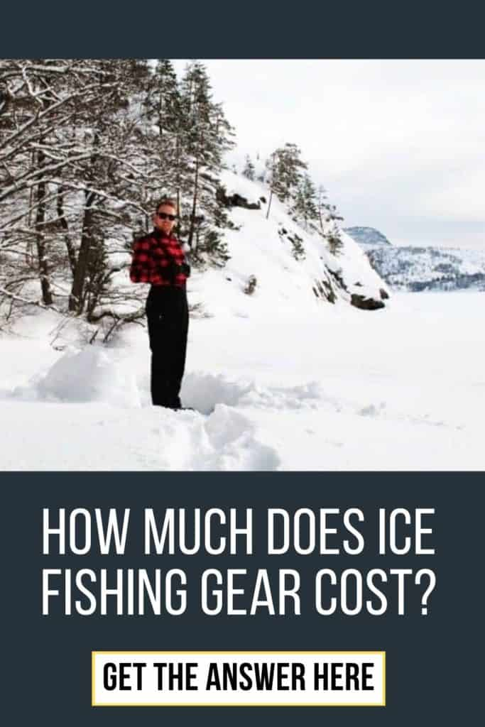 What does ice fishing gear cost? It all depends of the quality - this article includes examples and comparisons. #icefishinghouse #icefishingshanty #icefishingtips #icefishingsled #icefishingbait #icefishing #icefishinggear #icefishingshackplans #icefishingshack
