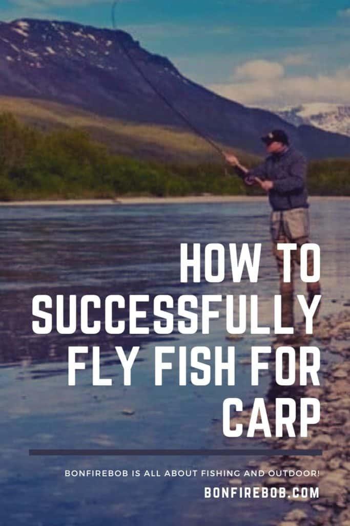 Fly fishing for carp. Learn all you need to know before going fly fishing for carp. #carpfishing #catchingcarp #carptips #findingcarp #fishingforcarp #tipscarp #fishing #carpbite #fishingtips #fishingbeginners #carpspawn