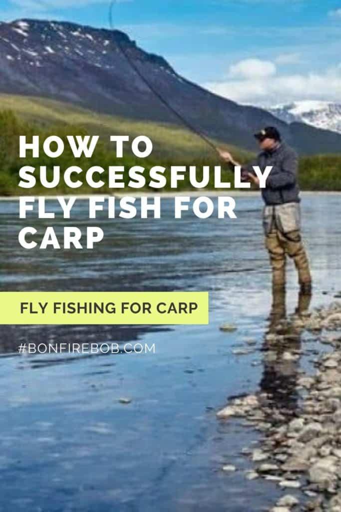 Fly fishing for carp. Learn all you need to know before going fly fishing for carp. #fishingforcarp #tipscarp #fishing #carptips #findingcarp #carpbite #fishingtips #fishingbeginners #carpspawn #carpfishing #catchingcarp