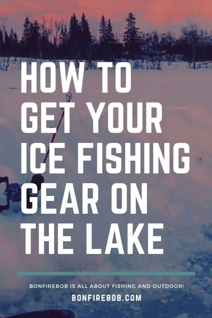 How to get your ice fishing gear on the lake. Learn how to get your ice fishing gear on the lake and much more. #icefishing #icefishinggear #icefishinghouse #icefishingshanty #icefishingbait #icefishingtips #icefishingsled #icefishingshackplans #icefishingshack