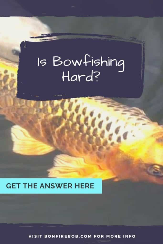 Is bowfishing hard? Let me explain to you why bowfishing isn't hard. A few pointers and tips to get started bowfishing for any fish. #fishwithbow #fishingcrossbow #bowfishingboatideas #bowfishingboat #bowfishingdeck #bowfishingarrow #bowfish #bowfishing #fishingwithbow #fishingarrow #bowfishinglights #bowfishingquotes #bowfishingdeck