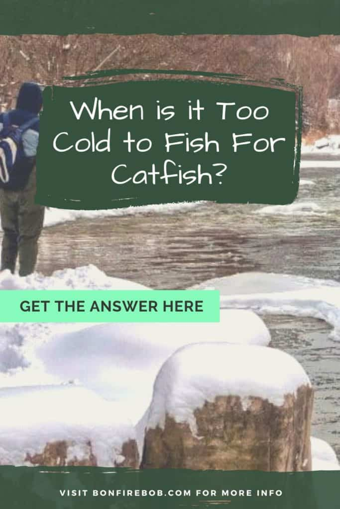 When is it too cold to fish for catfish? The fact is, that it's never is too cold to fish for catfish. Let me tell you why. #tipscatfish #fishingtips #findingcatfish #catfishing #catfishfishing #catfishtips #catfishing #catchingcatfish #catfishbite #fishingbeginners #catfishspawn